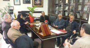 دیدار اعضای محترم کانون بازنشستگان تاکستان